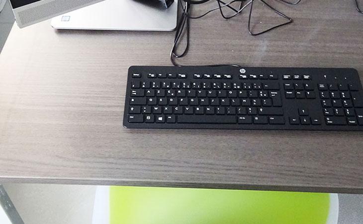 photo de détail des ordinateurs