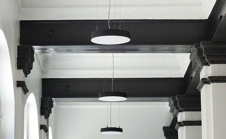 photo de détail du plafond