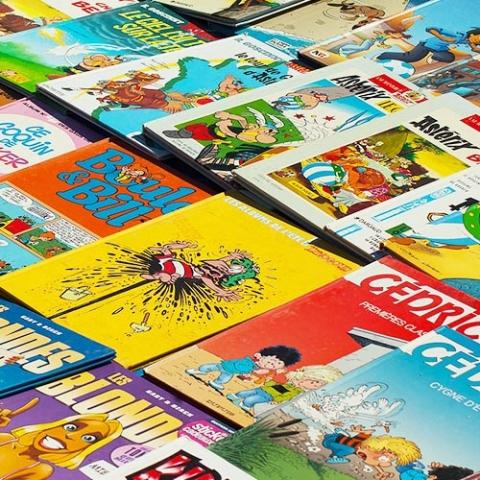 Illustration de l'offre de BD et comics en ligne